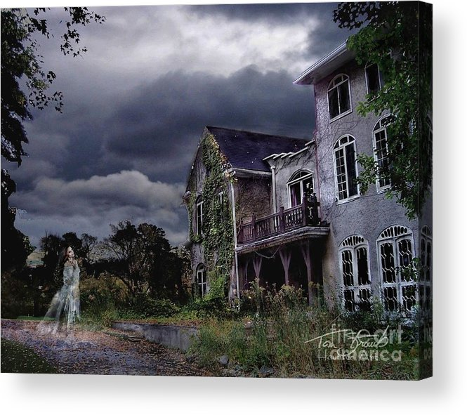Ghost Acrylic Print featuring the photograph Castle House by Tom Straub