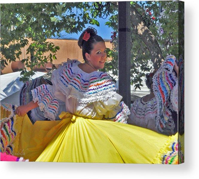 Fiesta Acrylic Print featuring the photograph Fiesta by Cheri Randolph