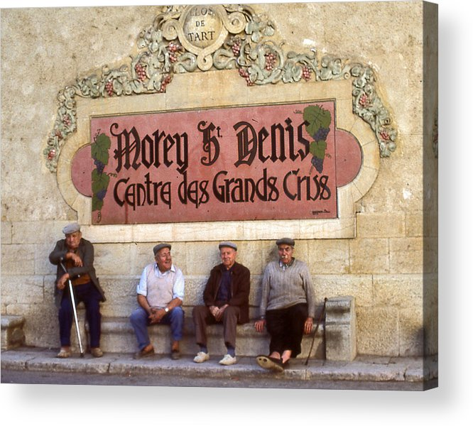 Acrylic Print featuring the photograph French Gentelman by Mel Felix