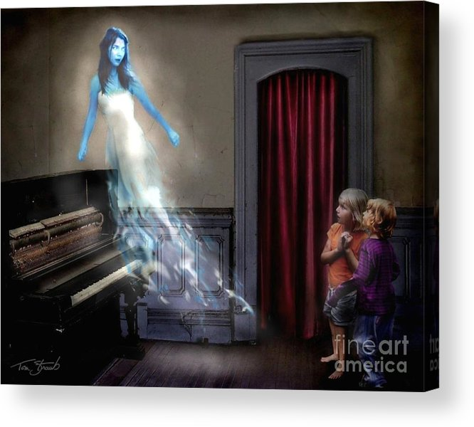 Ghost Acrylic Print featuring the photograph Ivory Ghost by Tom Straub