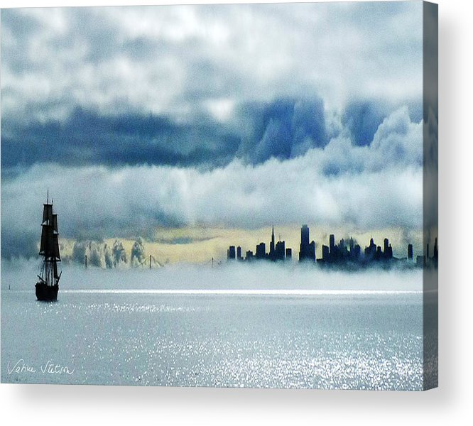 San Francisco Acrylic Print featuring the photograph Passage by Sabine Stetson