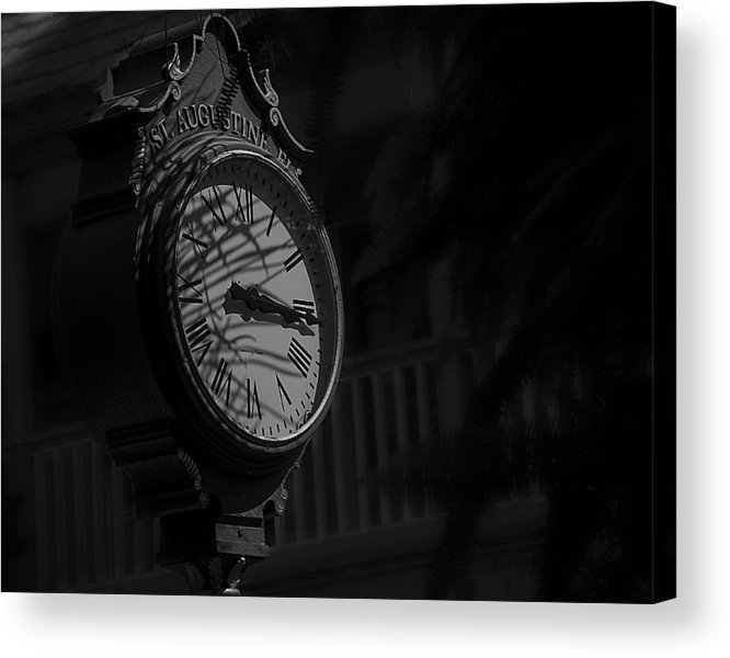 B&w Acrylic Print featuring the photograph Somewhere Someone Is Thinking Of You by Mario Celzner