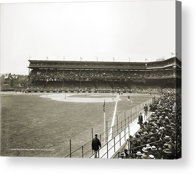 1912 Acrylic Print featuring the photograph Baseball Game, C1912 by Granger