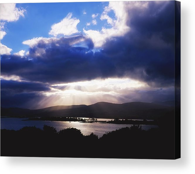 Beauty In Nature Acrylic Print featuring the photograph Kenmare Bay, Dunkerron Islands, Co by The Irish Image Collection
