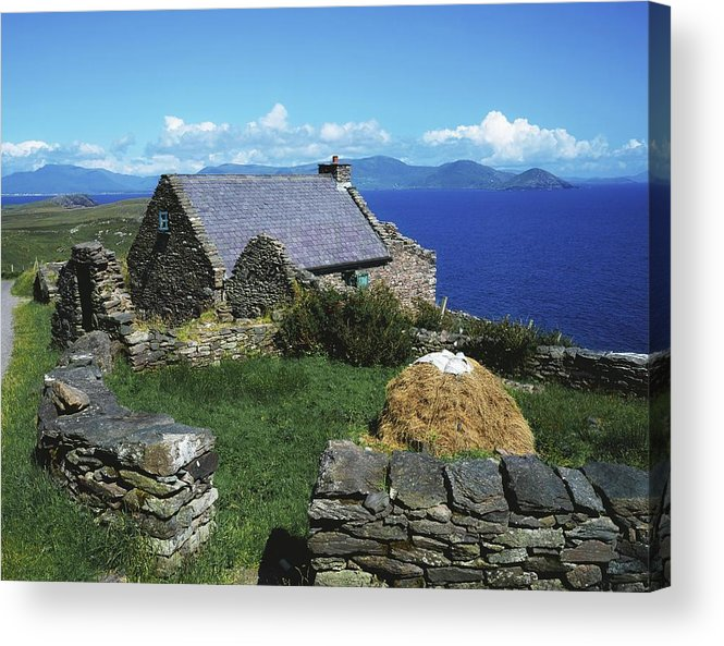 Day Acrylic Print featuring the photograph Ballinskelligs, Iveragh Peninsula by The Irish Image Collection