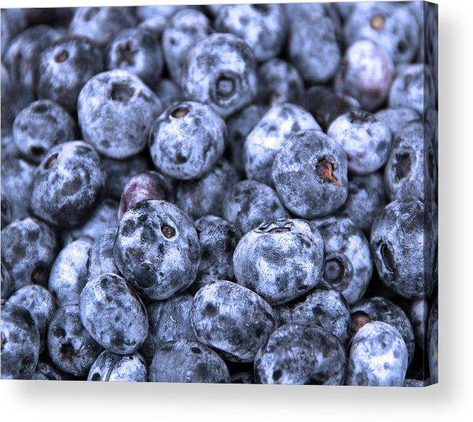 Berry Acrylic Print featuring the photograph Blueberries by Kim French