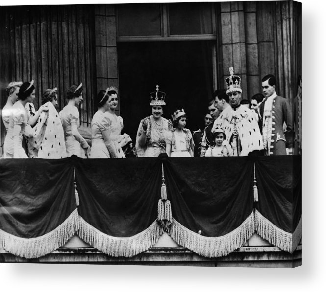1930s Acrylic Print featuring the photograph British Royal Family. From Center, L-r by Everett