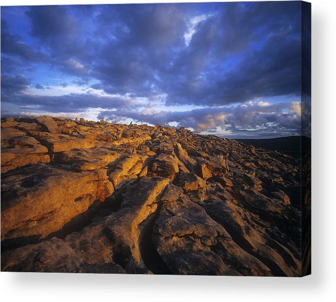 Cloud Acrylic Print featuring the photograph Cloudscape Over A Landscape, The by The Irish Image Collection