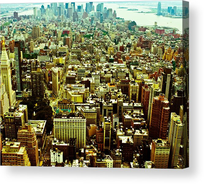Nyc Acrylic Print featuring the photograph Concrete Jungle by Kimberly Teebagy