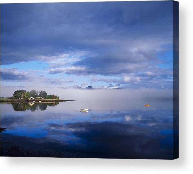 Kenmare River Acrylic Print featuring the photograph Dinish Island, Kenmare Bay, County by The Irish Image Collection