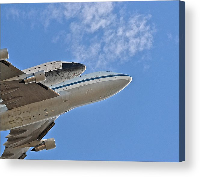 Endeavour Acrylic Print featuring the photograph Endeavour's Last Flight IIi by Bill Owen