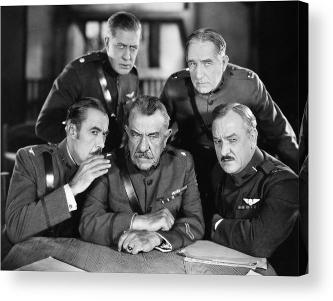 -ecq- Acrylic Print featuring the photograph Hard-boiled Haggerty, 1927 by Granger