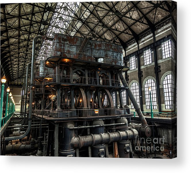 Steampunk Acrylic Print featuring the photograph Massive by Phil Pantano
