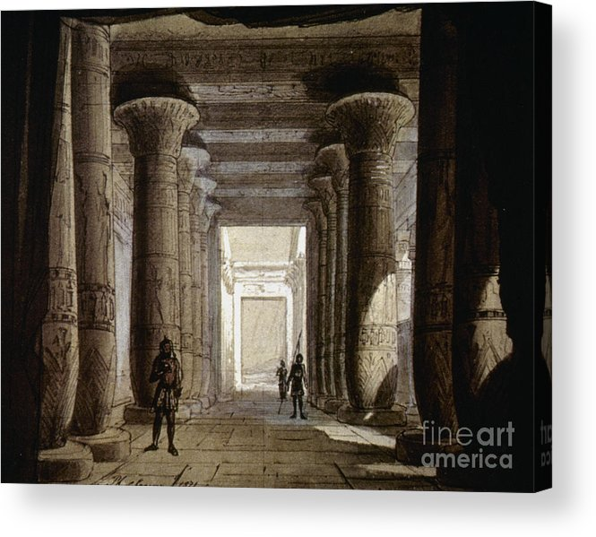 1871 Acrylic Print featuring the photograph Aida Set, 1871 by Granger
