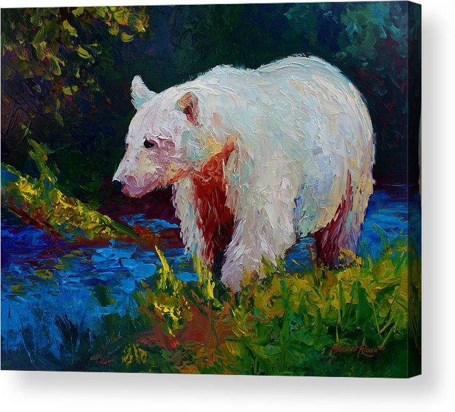 Western Acrylic Print featuring the painting Capture The Spirit by Marion Rose