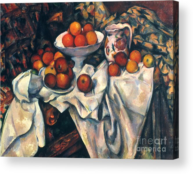 1890s Acrylic Print featuring the photograph Cezanne: Still Life, C1899 by Granger