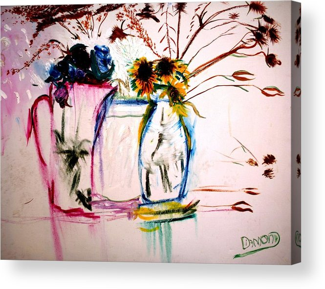 Still Life Acrylic Print featuring the painting Clear by Jack Diamond