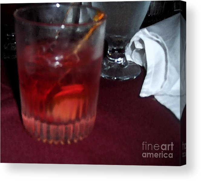 Drinks Acrylic Print featuring the photograph Drink Up by Debbi Granruth