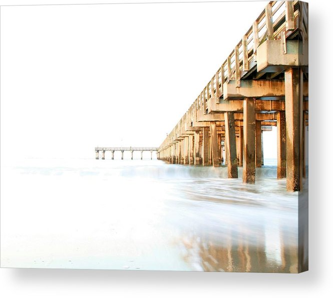 High Key Acrylic Print featuring the photograph Faith by Mitch Cat