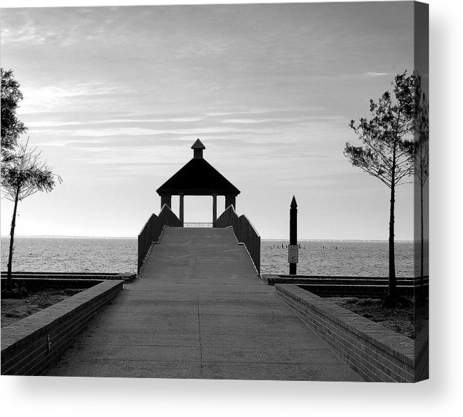 Water Acrylic Print featuring the photograph Fontainbleu State Park by Heather S Huston