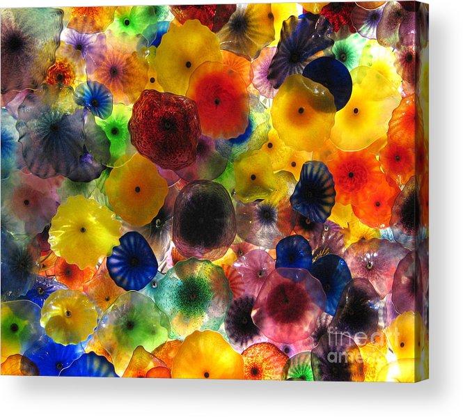 Glass Acrylic Print featuring the photograph Glass Splendor by Tom Tripp