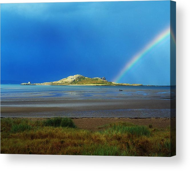 Dublin Acrylic Print featuring the photograph Irelands Eye, Howth, Co Dublin, Ireland by The Irish Image Collection