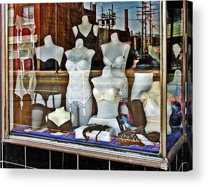 Color Acrylic Print featuring the photograph Lingerie by Curtis Staiger