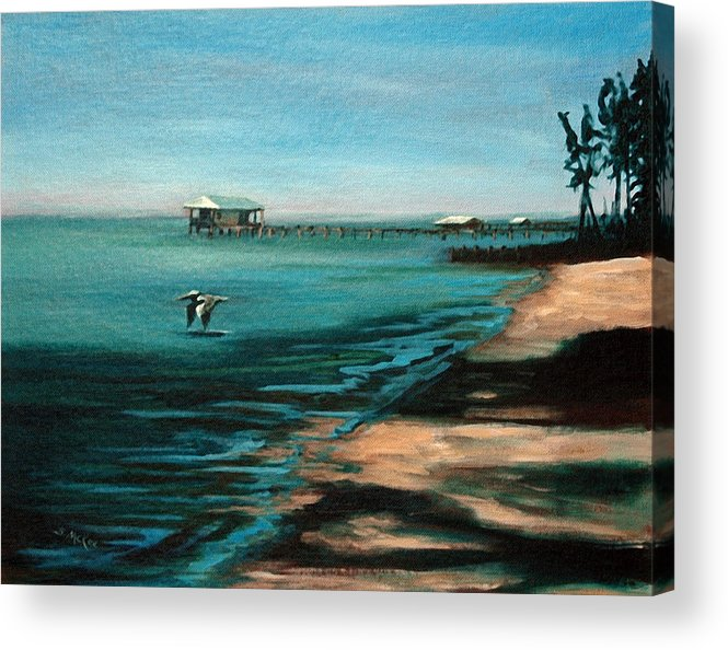 Acrylic Acrylic Print featuring the painting Passing By Again by Suzanne McKee