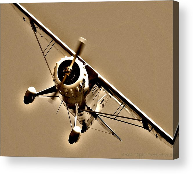 Airport Acrylic Print featuring the photograph Pylon Polisher by Brent Taylor