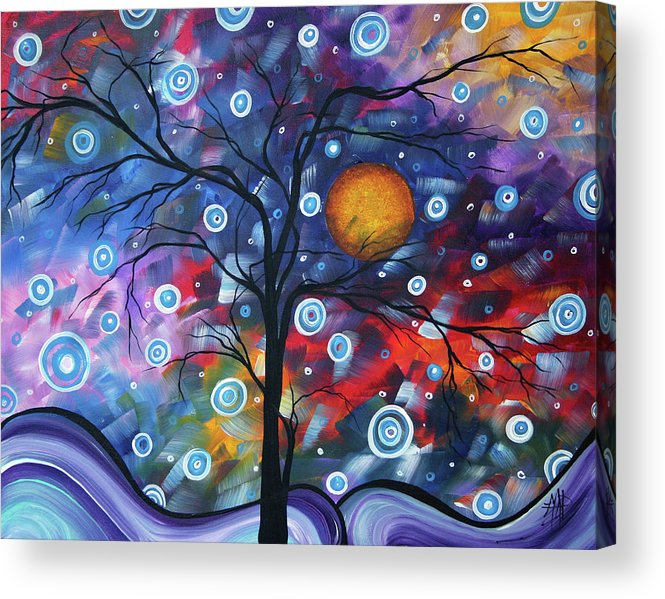 112310 Acrylic Print featuring the painting See The Beauty by Megan Duncanson