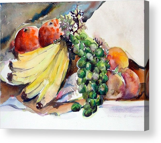 Fruit Acrylic Print featuring the painting Thanksgiving by Mindy Newman