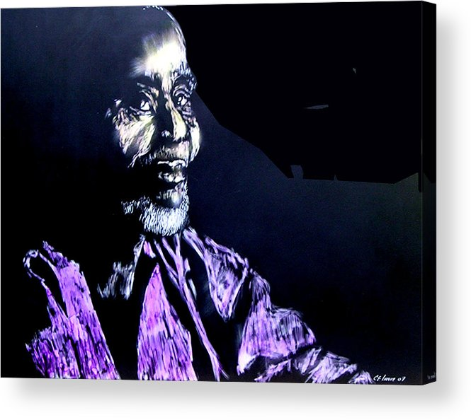 Acrylic Print featuring the mixed media The Elder by Chester Elmore