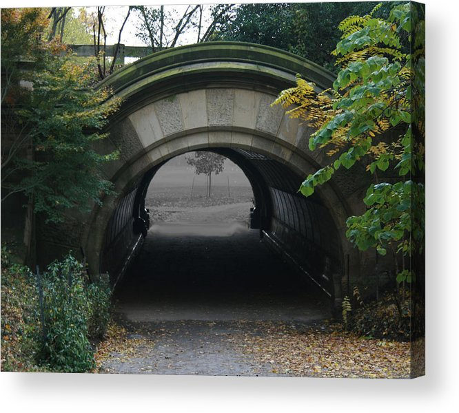 Photography Acrylic Print featuring the photograph Time Tunnel by Bill Ades