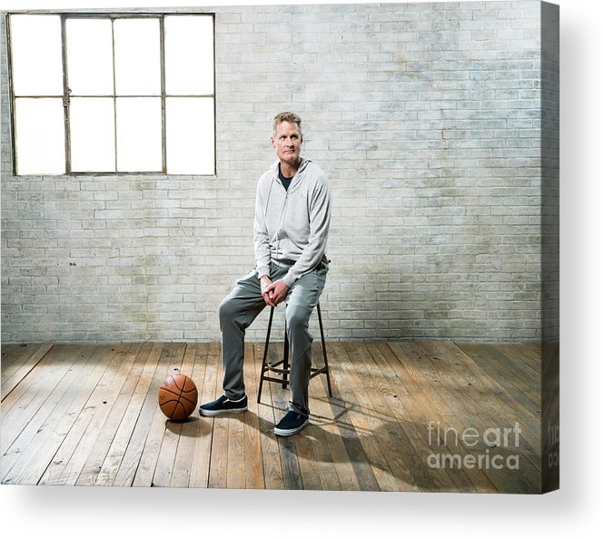 Nba Pro Basketball Acrylic Print featuring the photograph Nba All-star Portraits 2017 by Nathaniel S. Butler
