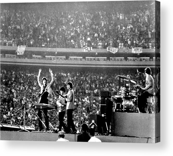Paul Mccartney Acrylic Print featuring the photograph The Beatles by Michael Ochs Archives