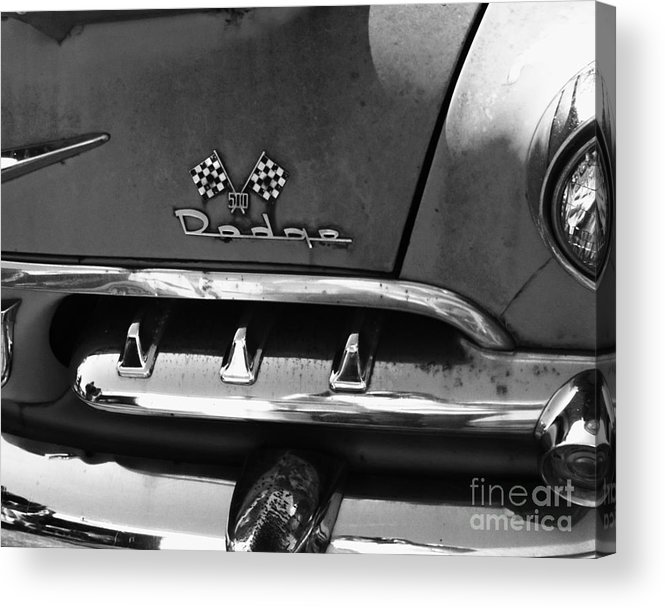 1956 Acrylic Print featuring the photograph 1956 Dodge 500 Series Photo 2 by Anna Villarreal Garbis
