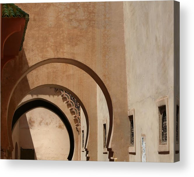 Architecture Acrylic Print featuring the photograph Arches by A Rey