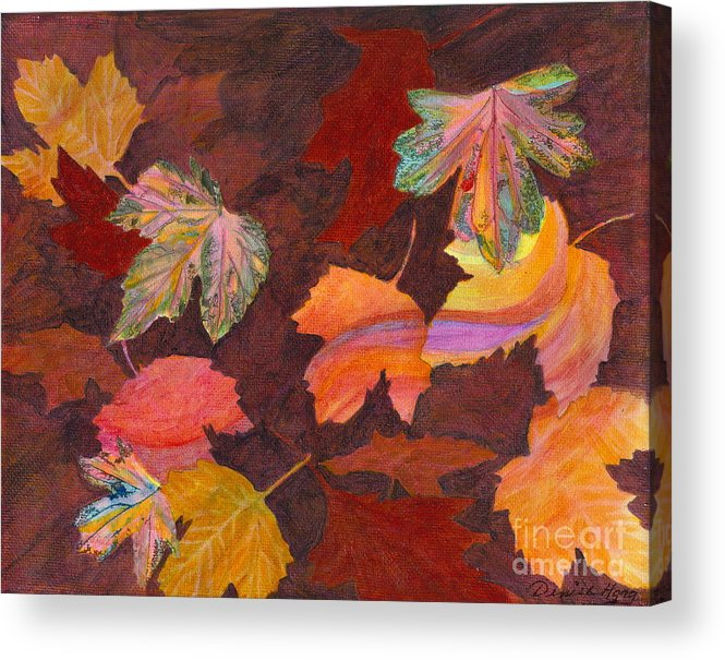 Autumn Acrylic Print featuring the painting Autumn Wonder by Denise Hoag