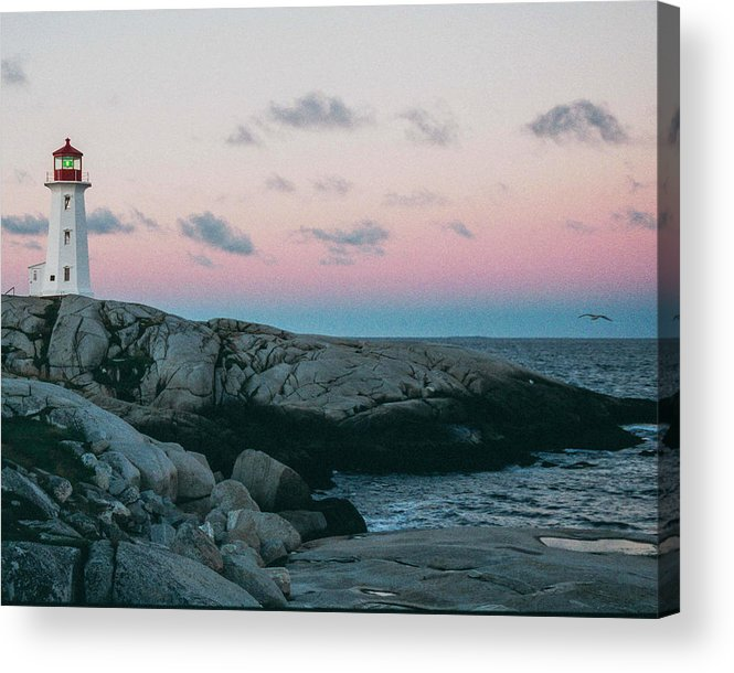 Peggy's Cove Acrylic Print featuring the photograph Peggy's Cove by Ron Metz