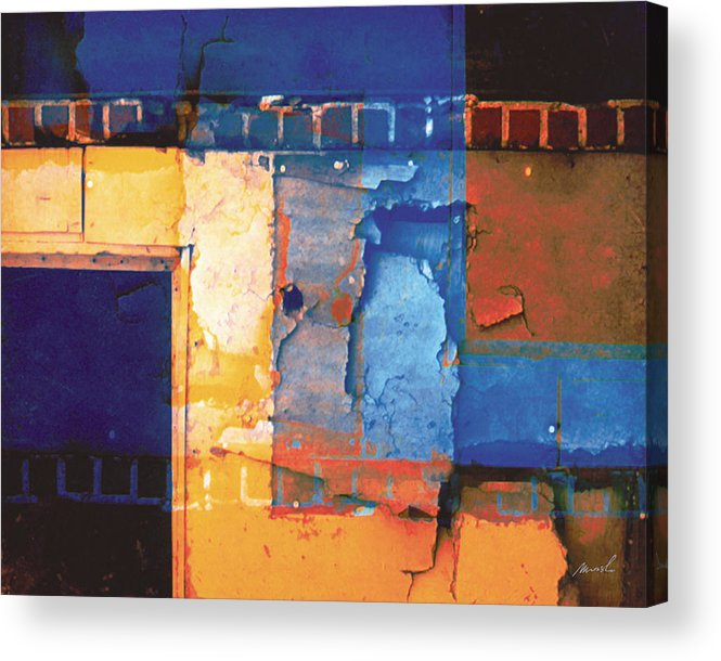 Architecture Acrylic Print featuring the digital art Enter by The Art of Marsha Charlebois