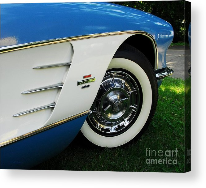 In Car Love Acrylic Print featuring the photograph In Car Love by Mel Steinhauer