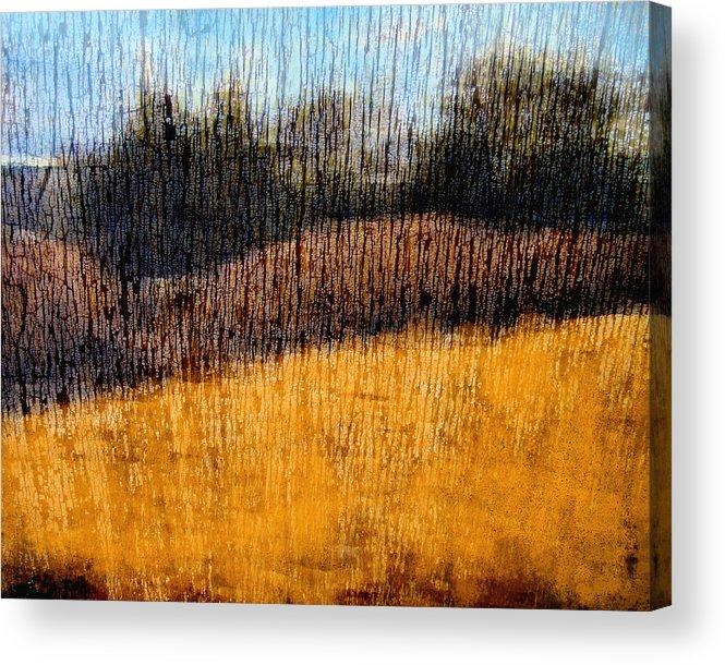 Landscape Acrylic Print featuring the photograph Oklahoma Prairie Landscape by Ann Powell