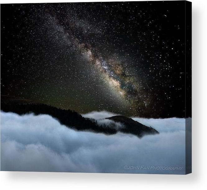 Sky Acrylic Print featuring the photograph Rivers In The Sky by John Fan