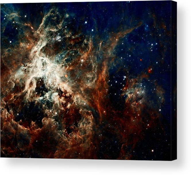 Hubble Acrylic Print featuring the photograph Tarantula Nebula by Amanda Struz