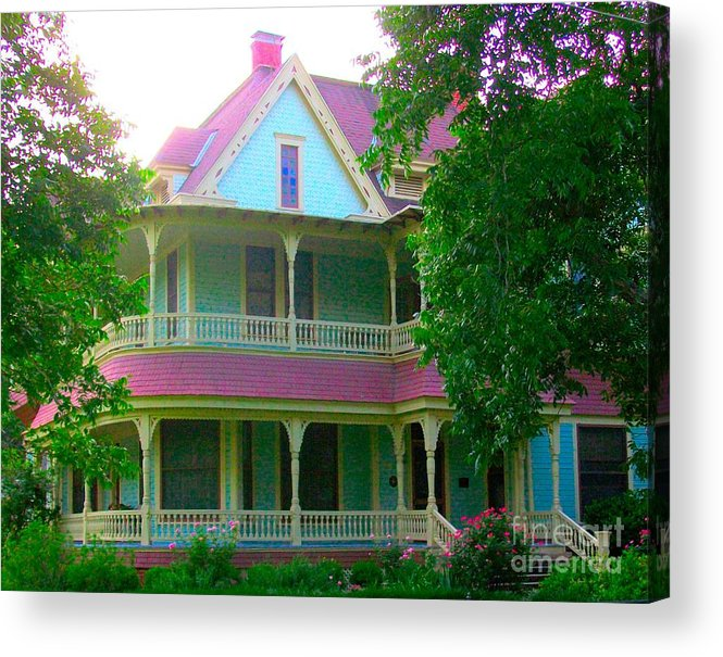 Victorian Acrylic Print featuring the photograph Victorian On Church Street by Mountain Femme