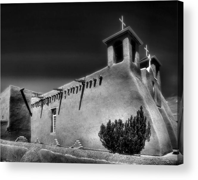 Mission Church Acrylic Print featuring the photograph San Francisco De Asis Church Iv by Steven Ainsworth