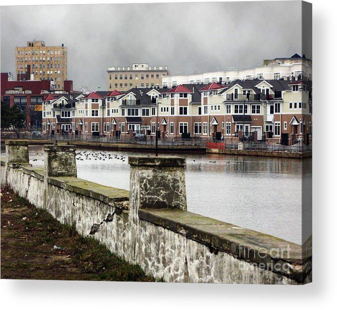 Wall Acrylic Print featuring the photograph Asbury Park Perspective by Anne Ferguson