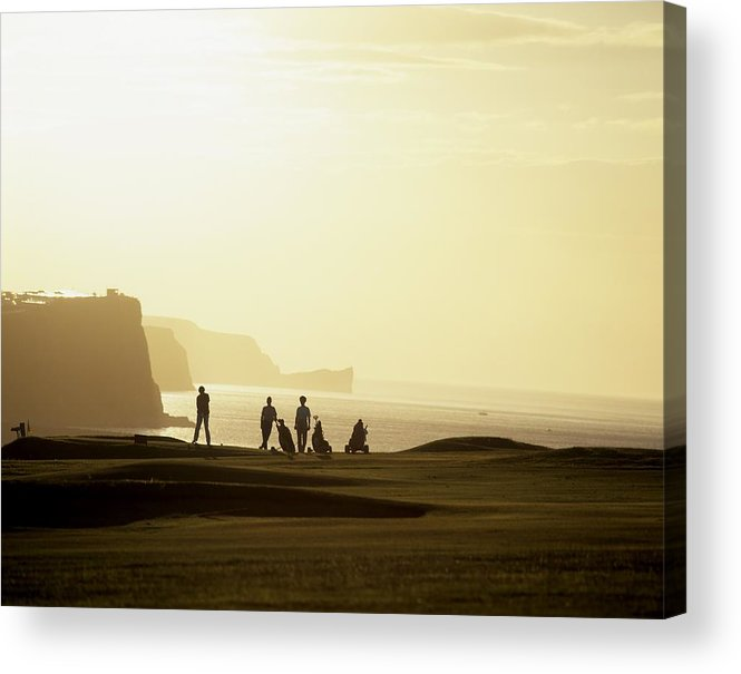 Outdoors Acrylic Print featuring the photograph Ballycastle Golf Club, Co Antrim by The Irish Image Collection