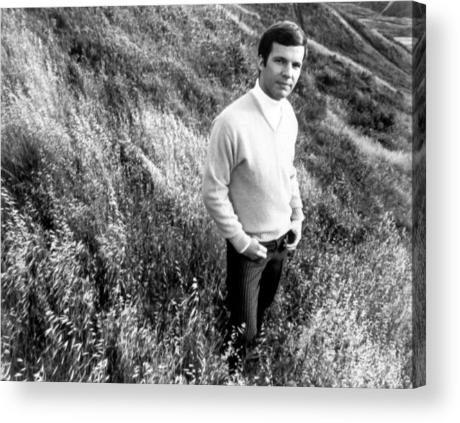 1960s Fashion Acrylic Print featuring the photograph Bobby Vee, Ca. 1968 by Everett