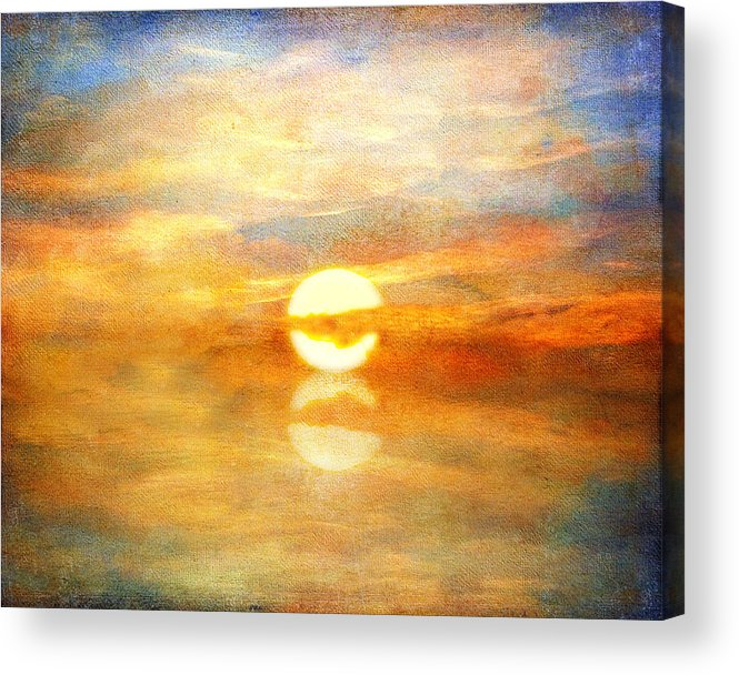 Sunset Acrylic Print featuring the photograph Breaking Dawn by Stephen Warren
